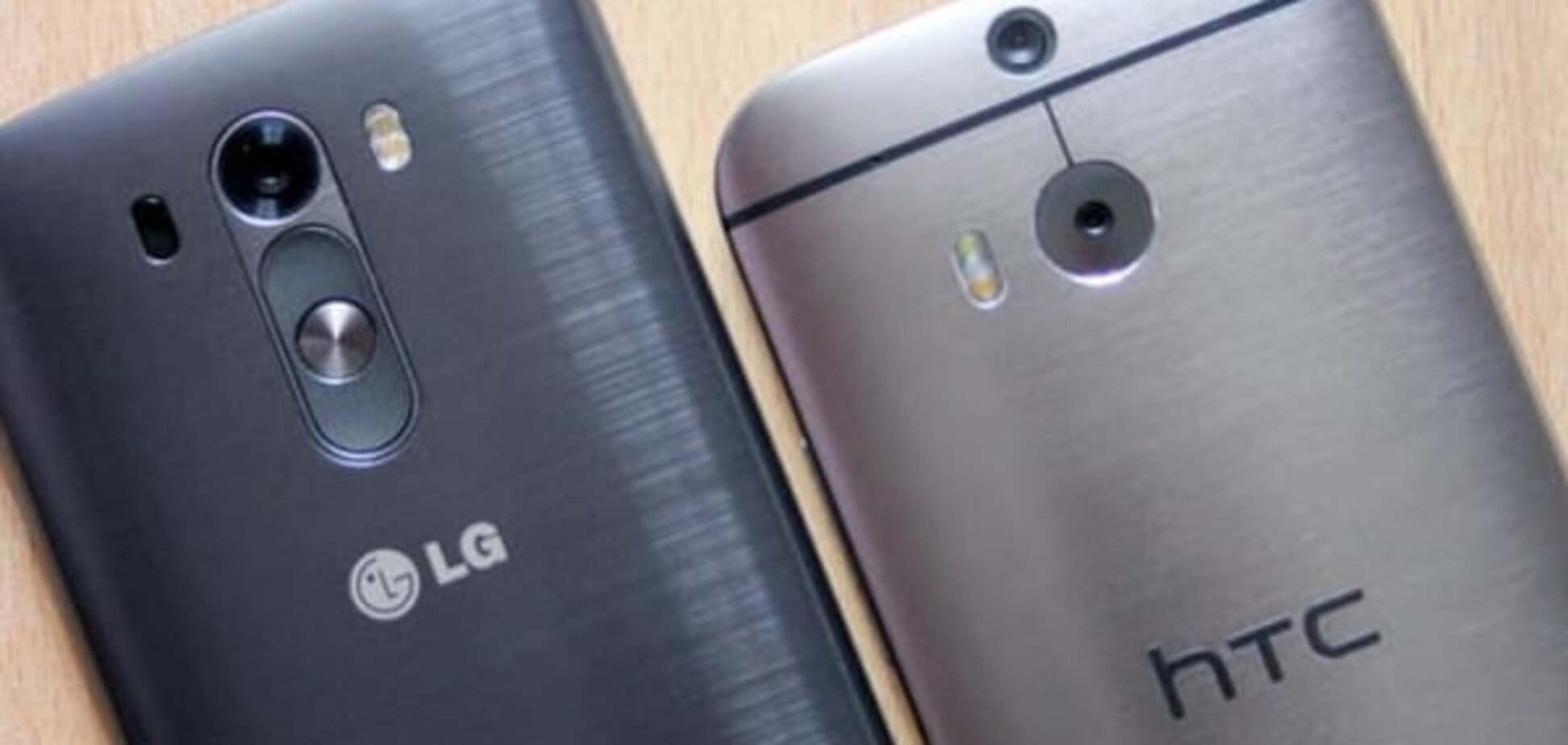 LG і HTC відмовилися везти дорогі смартфони у Росію
