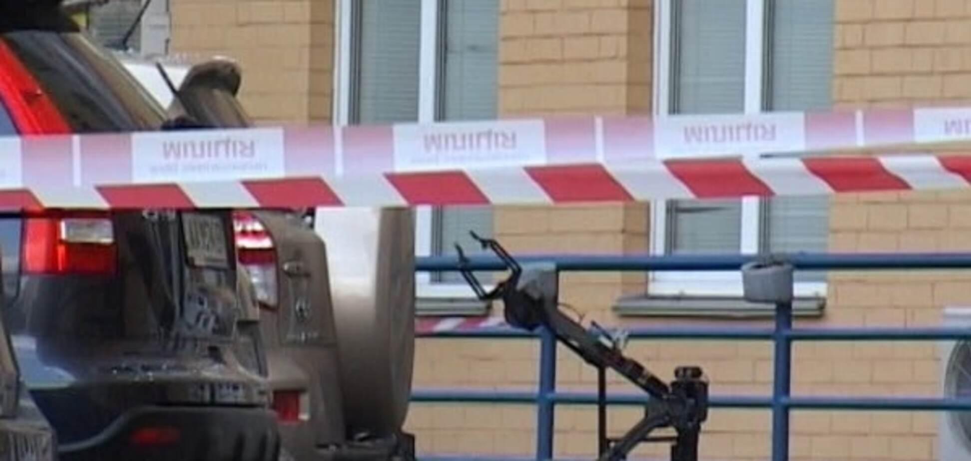 Вибух автомобіля в Києві: з'явилося відео з місця події