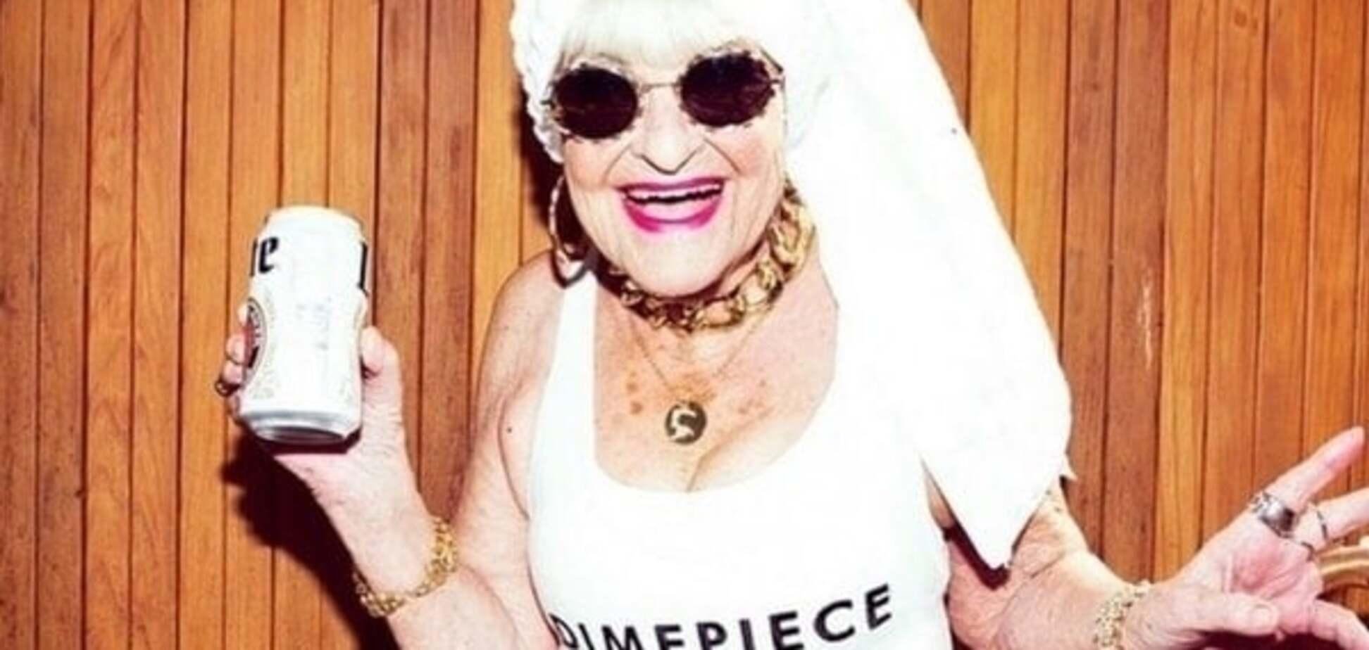 Самая плохая бабушка в Сети: смотрите фото и завидуйте