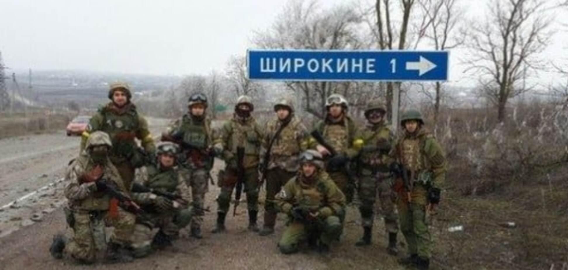 Українські бійці повністю контролюють Широкине - Жебрівський