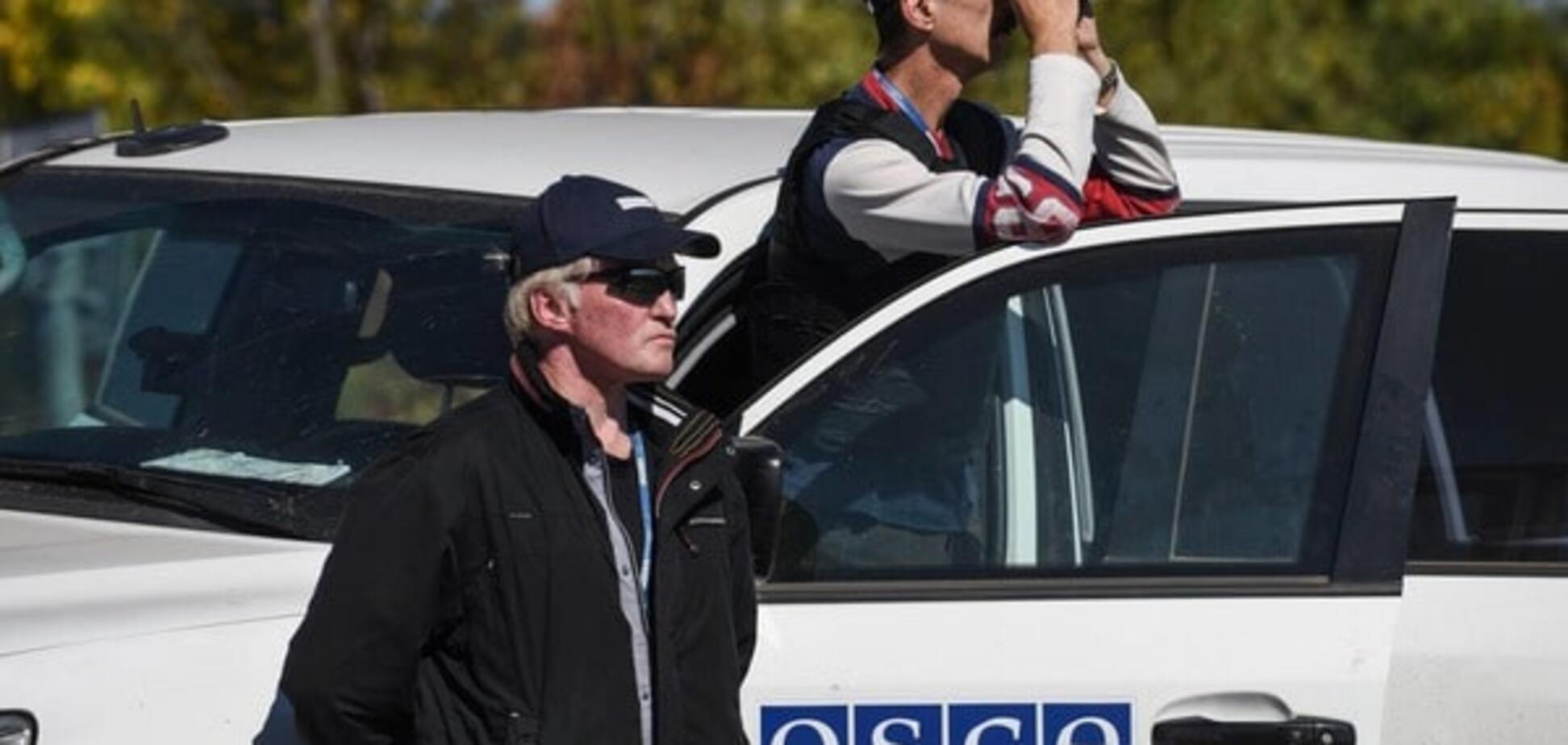 ОБСЄ повідомила про обстріл своїх співробітників на Донбасі