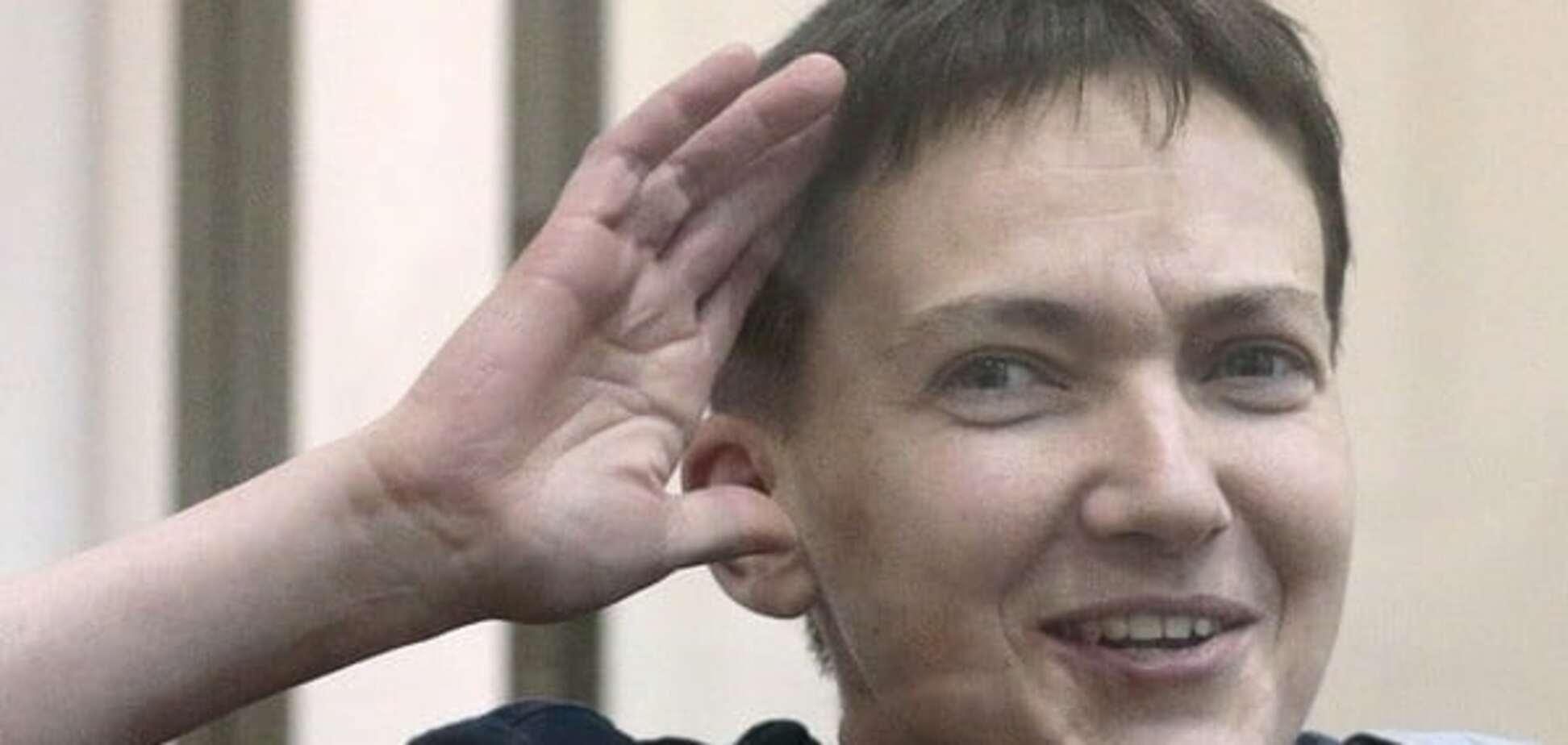 Савченко можуть транспортувати літаком до Москви