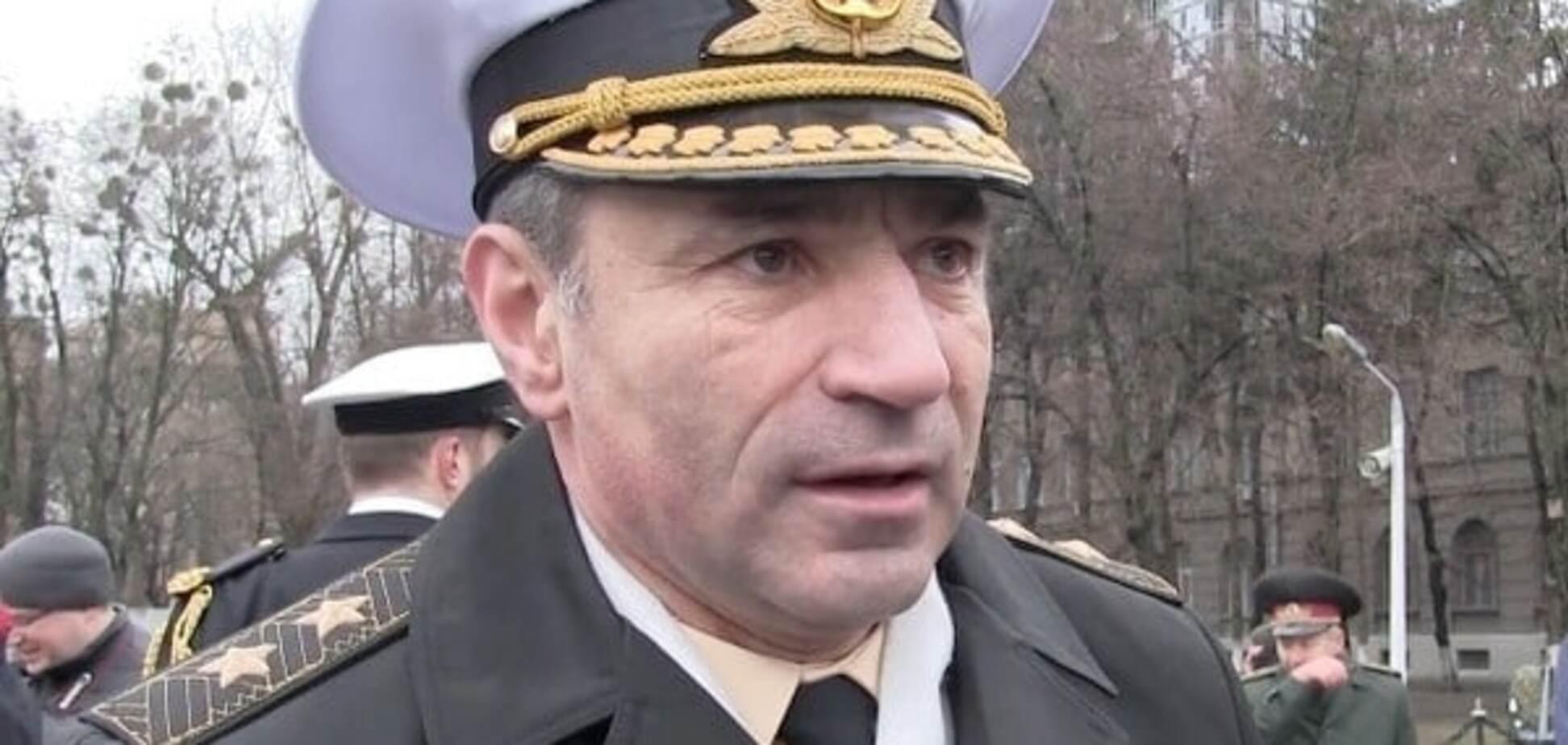 Волонтер розкрив ім'я нового командувача ВМС України