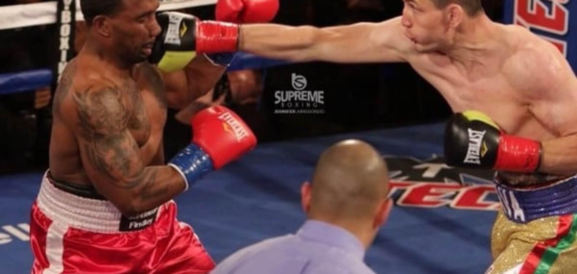 Непереможний український боксер здобув яскраву перемогу над 'Суперменом': відео нокдауну