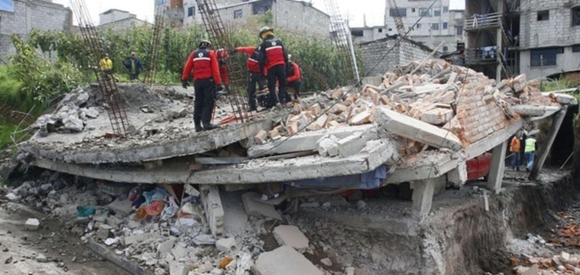 Землетрус в Еквадорі: кількість жертв зросла до 272