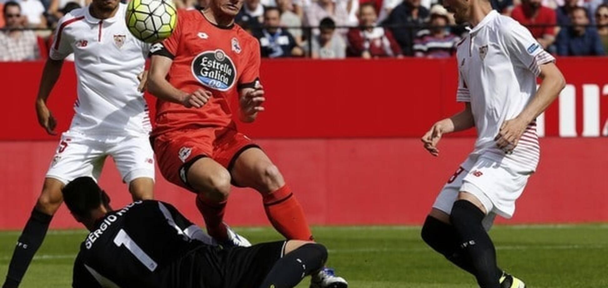 'Севілья' з Коноплянкою на старті упустила перемогу в чемпіонаті Іспанії