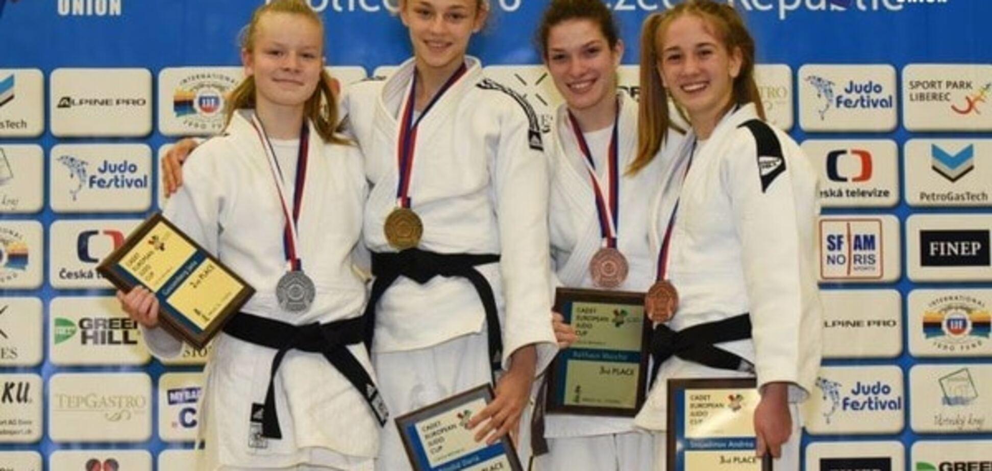 15-річна українка виграла Кубок Європи з дзюдо