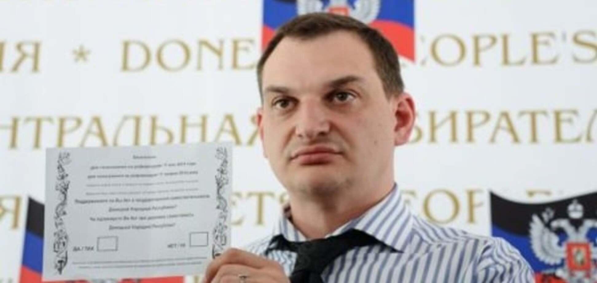 Живий, але не здоровий: у 'ДНР' розповіли, як і за що Захарченко розправився з главою 'ЦВК'
