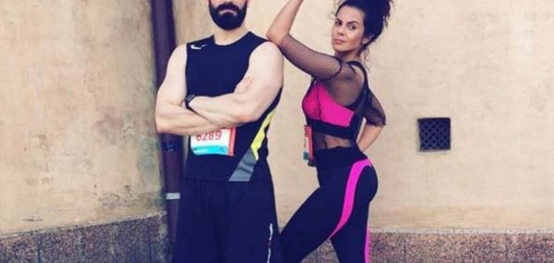 Настя Каменских пробежала марафон