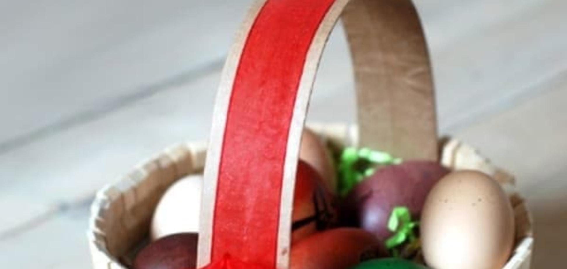 Поделки к Пасхе: пасхальные корзинки своими руками