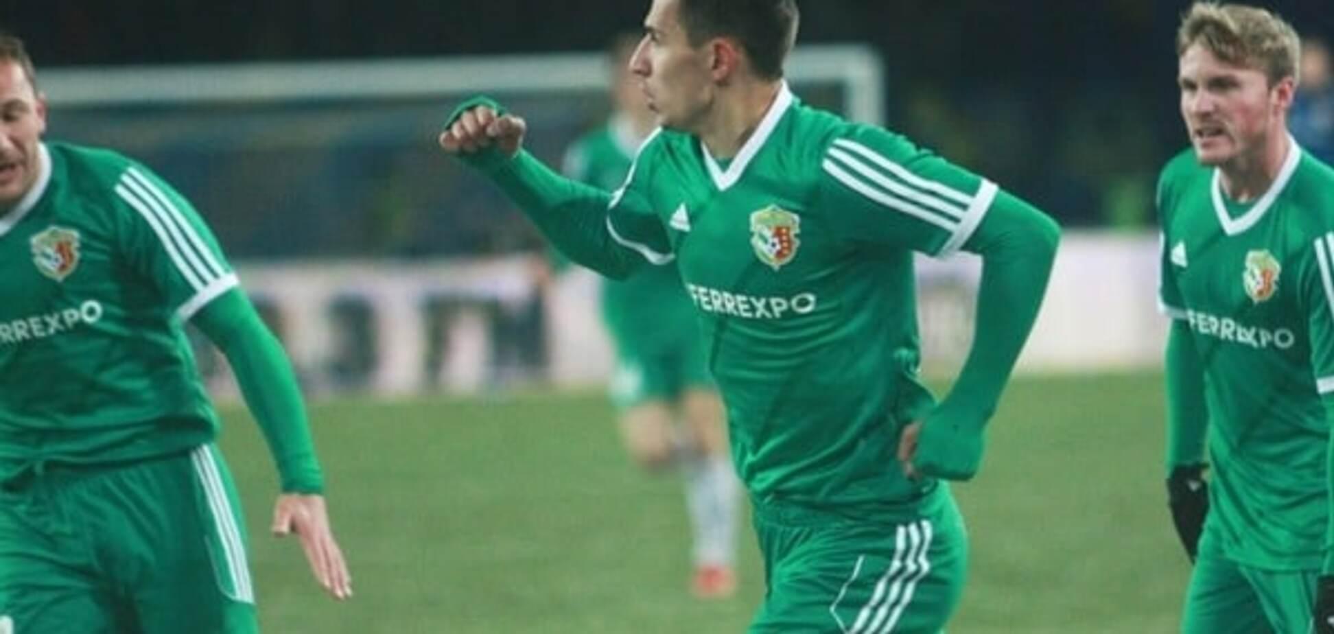 Нападнику 'Ворскли' заборонили грати проти 'Динамо'