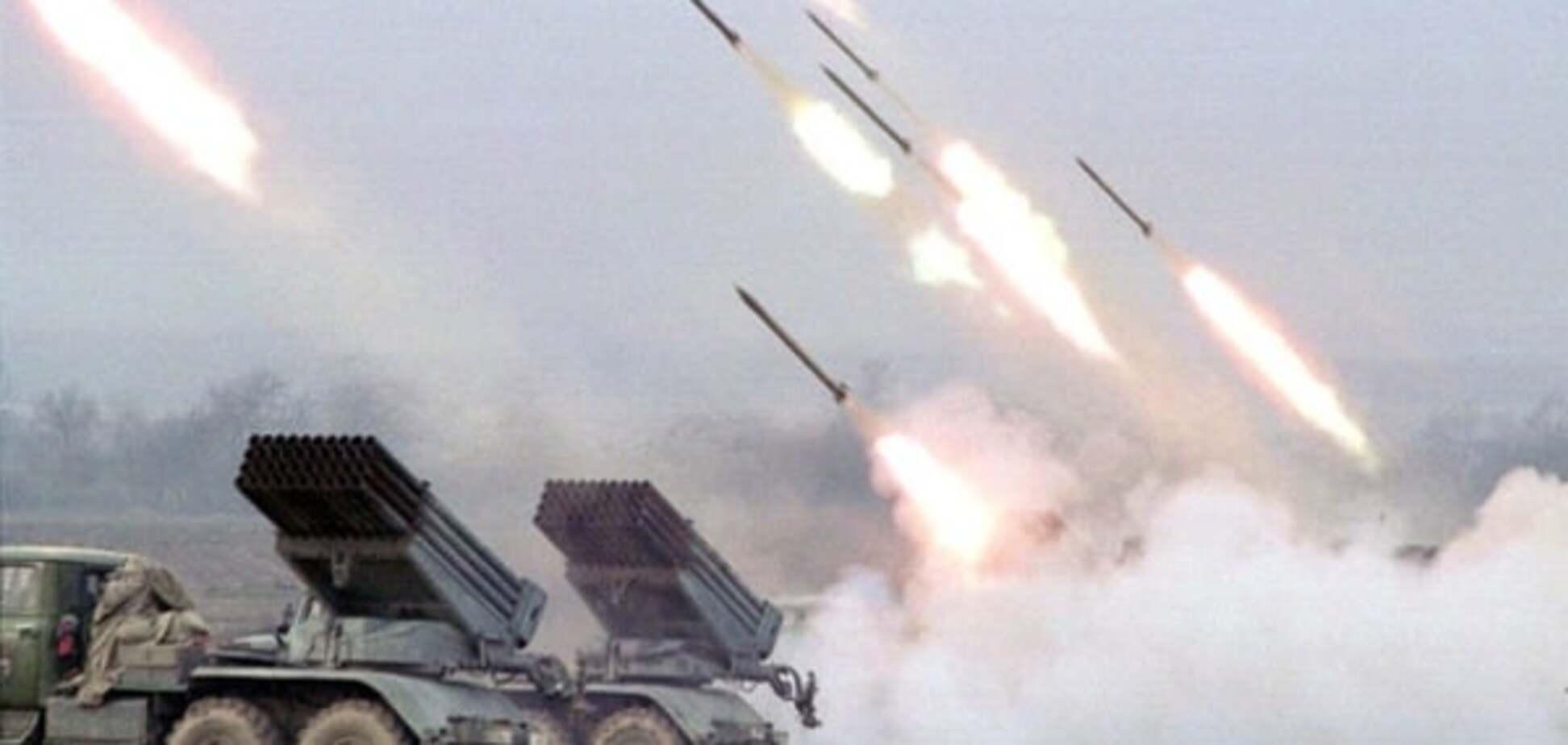 На Луганщині терористи вдарили з 'Градів'