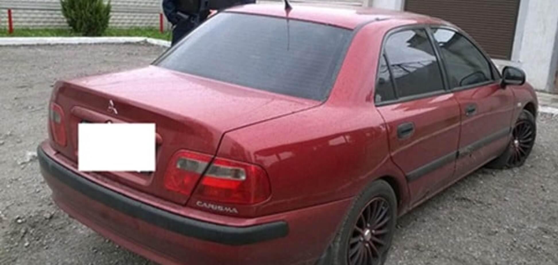 Авто подозреваемых в стрельбе в Днепродзержинске