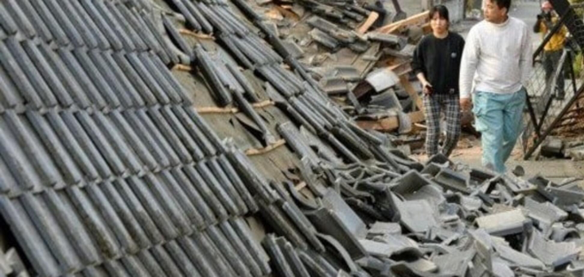 На півдні Японії знову стався землетрус
