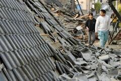 Японию не перестает трясти: на юге страны вновь произошло землетрясение