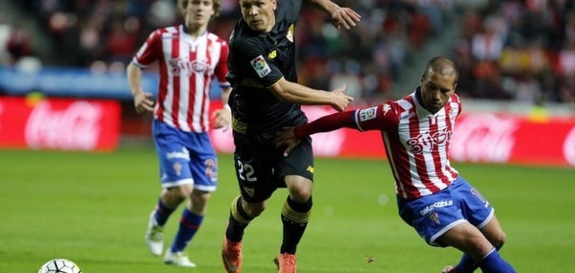 Коноплянка визнаний найкращим гравцем 'Севільї' в матчі чемпіонату Іспанії