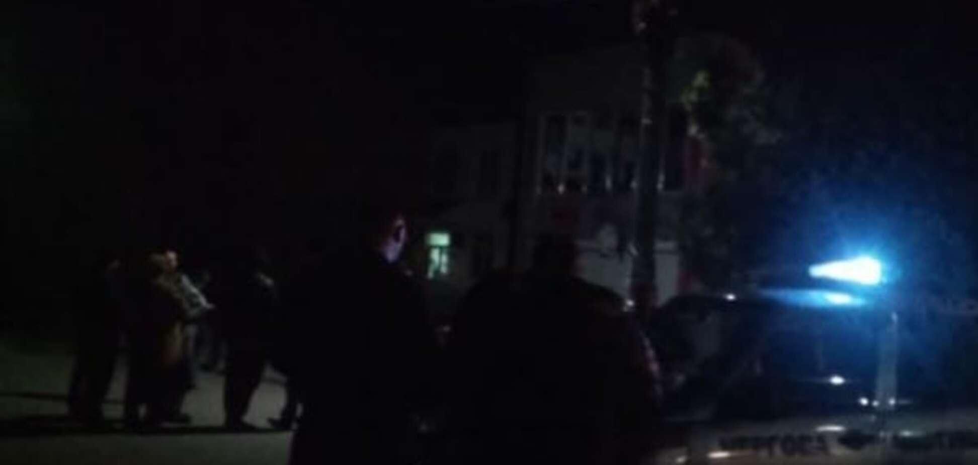 У центрі Генічеська стався вибух: опубліковані фото і відео