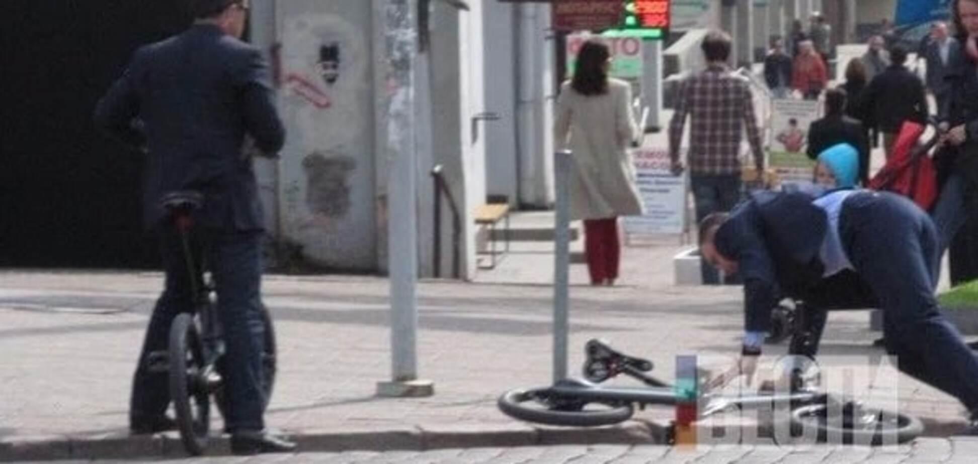 'Суперсобытие': Кличко рассказал о падении с велосипеда