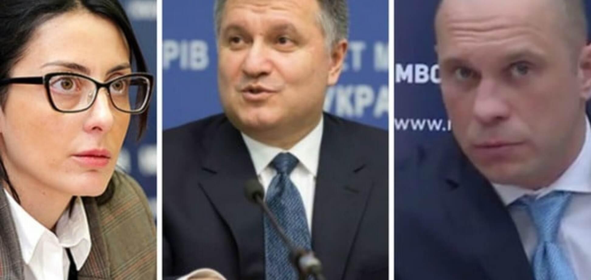 Илья Кива, Хатия Деканаидзе и Арсен Аваков