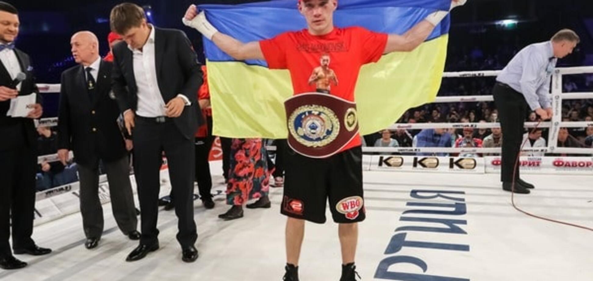 Український боксер став чемпіоном Європи, побивши росіянина