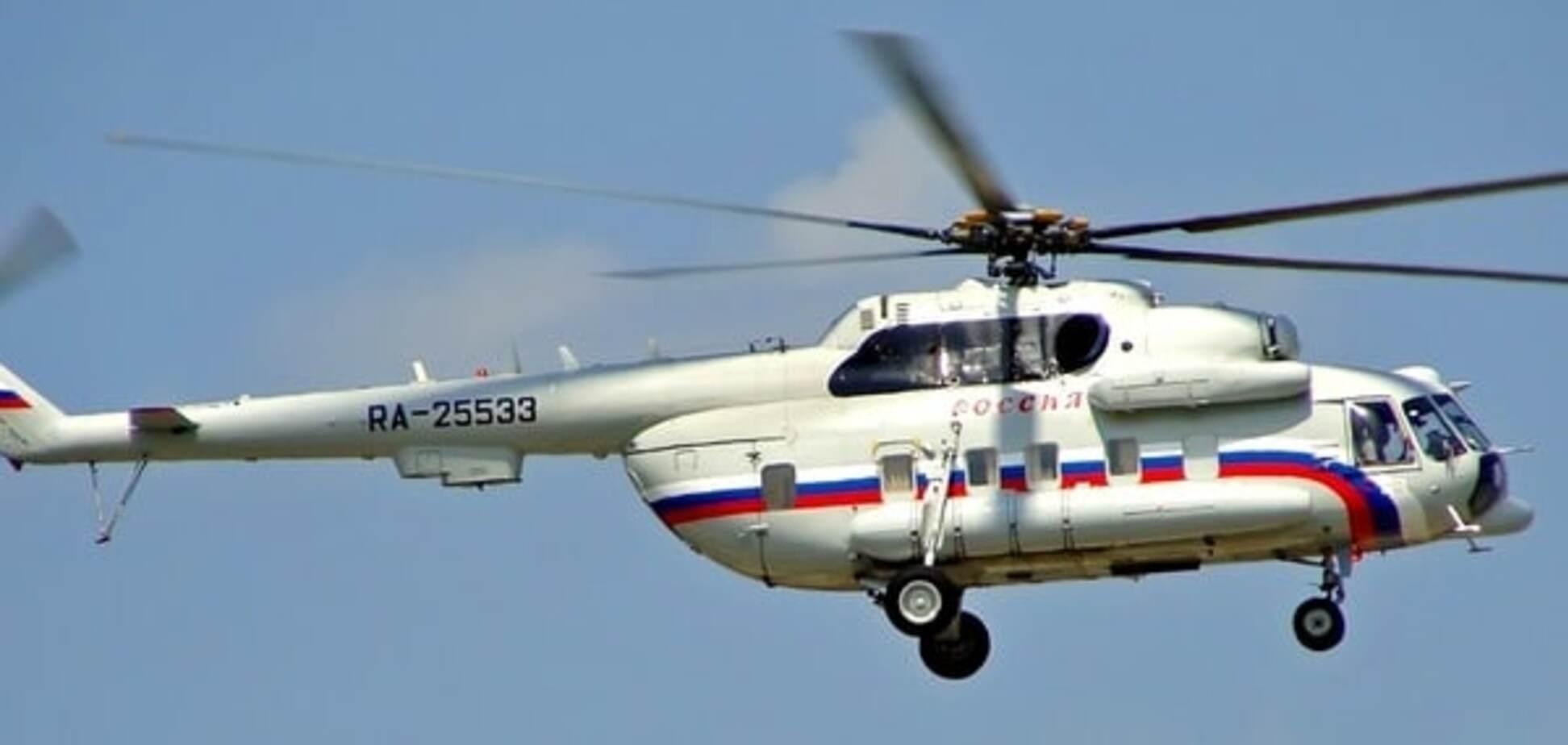 Прикордонники помітили російський вертоліт Мі-8, що нарізав кола над Кримом