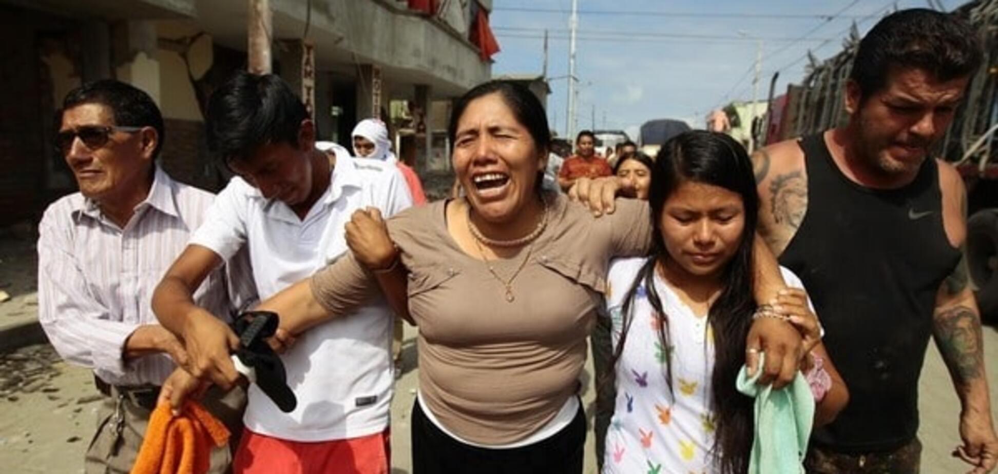 Жертви і руйнування: в Еквадорі підрахували втрати від потужного землетрусу