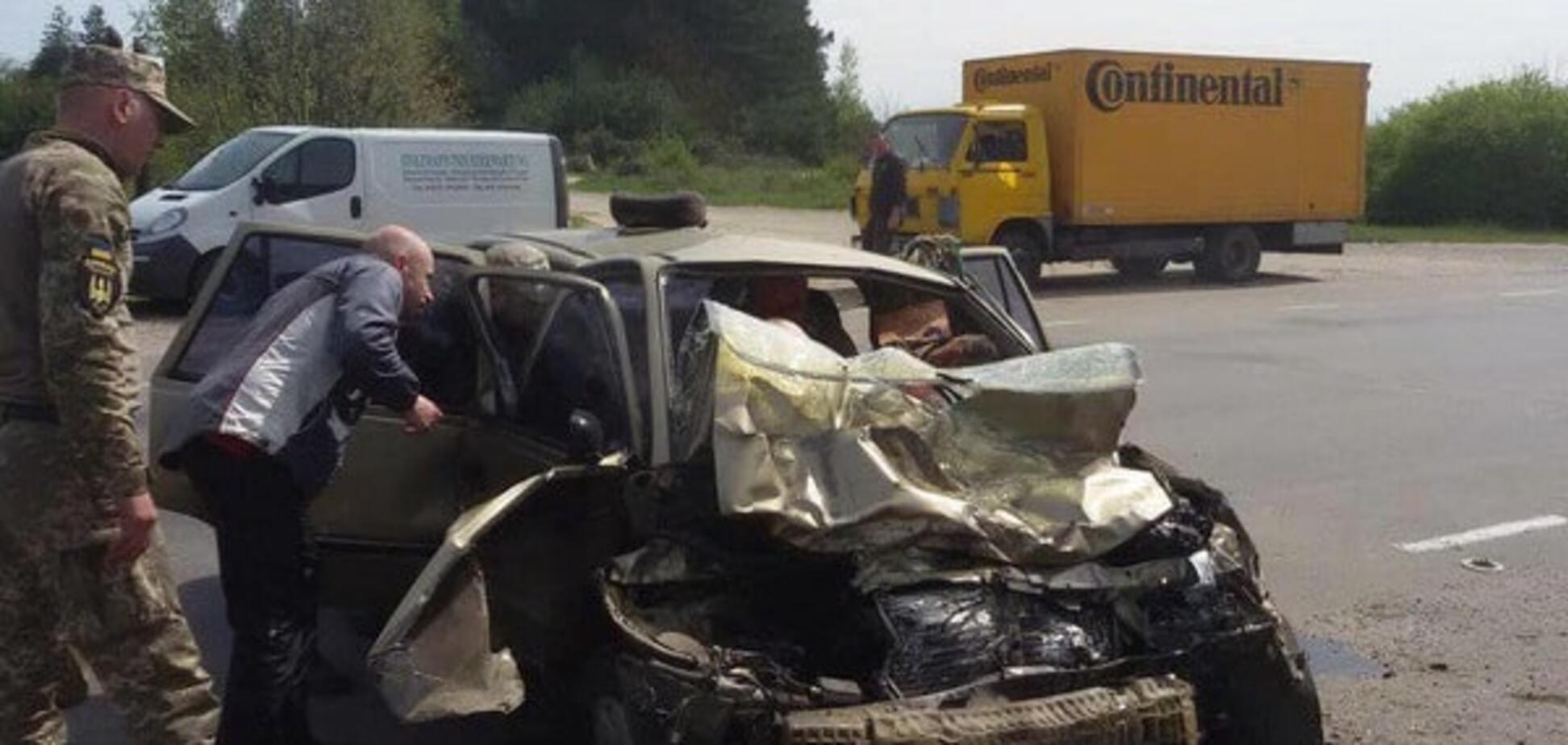 У Рівненській області в аварії загинули військові