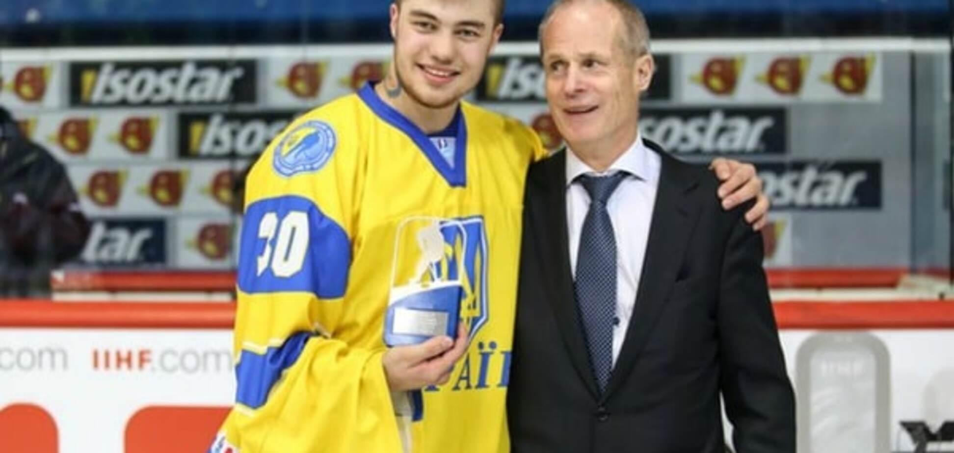 Украинец стал лучшим вратарем чемпионата мира по хоккею