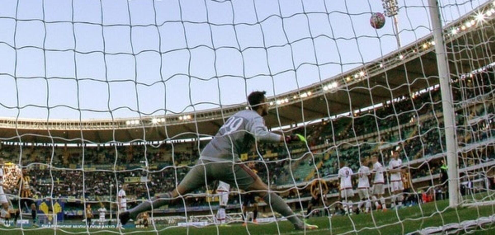 'Мілан' зганьбився в чемпіонаті Італії