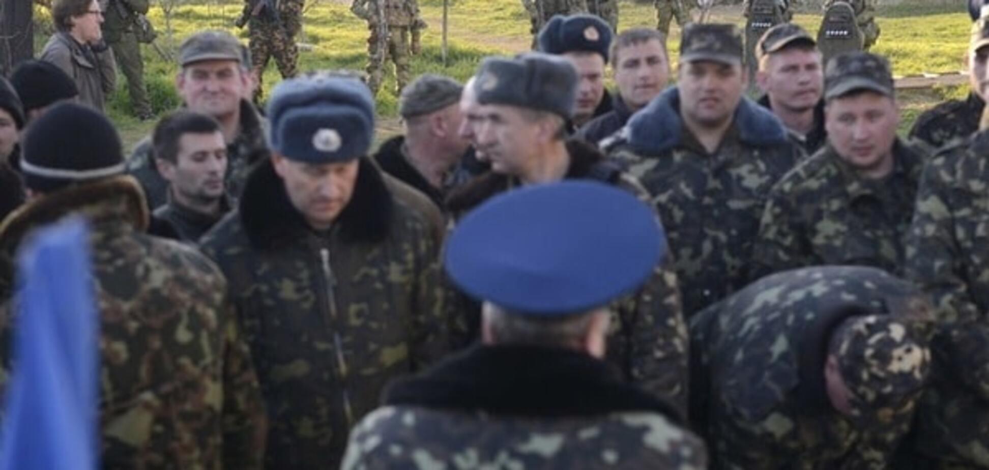 Постановочні штурми: ватажок 'самооборони Криму' розповів, як ЗСУ 'здавали' півострів