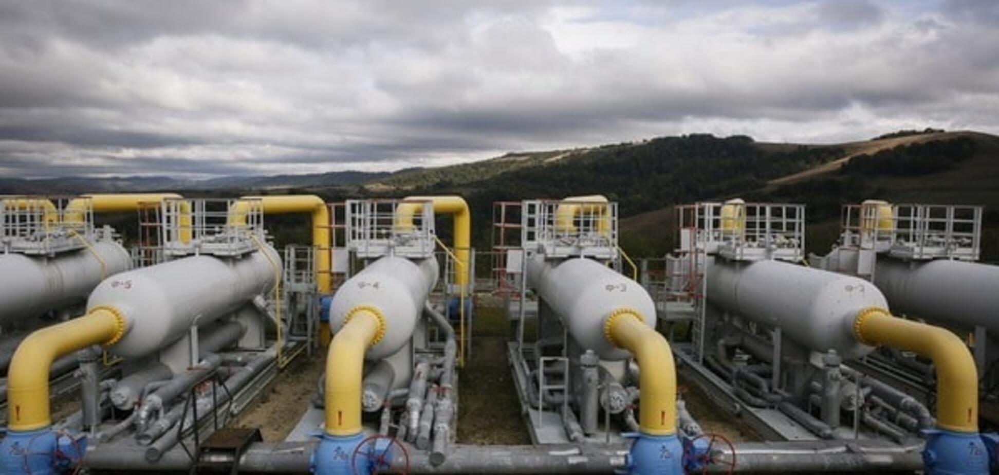 Україна зупинить реверс газу з ЄС