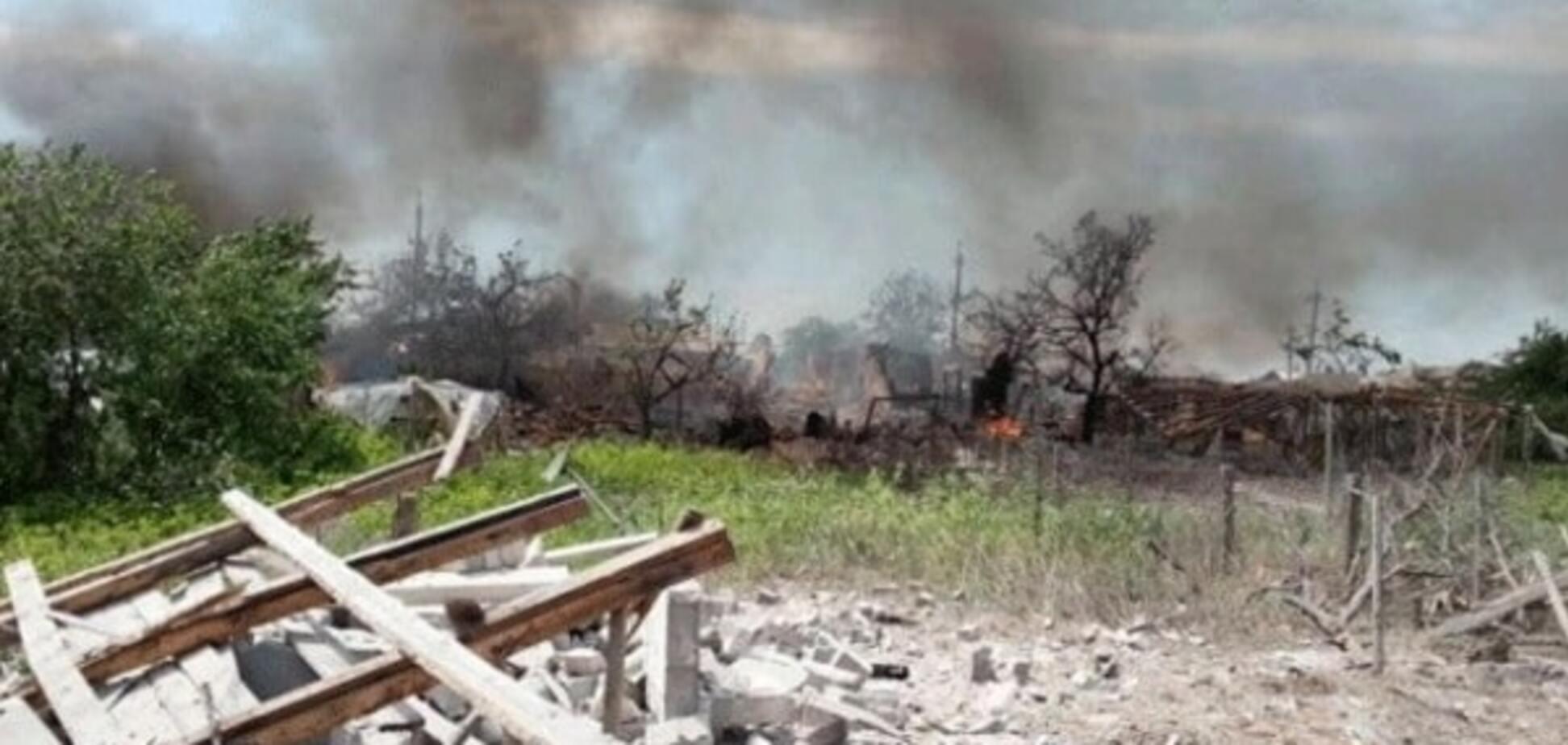 Терористи 'ЛНР' обстріляли автомобіль ДСНС і житлові будинки в Станиці Луганській - Тука