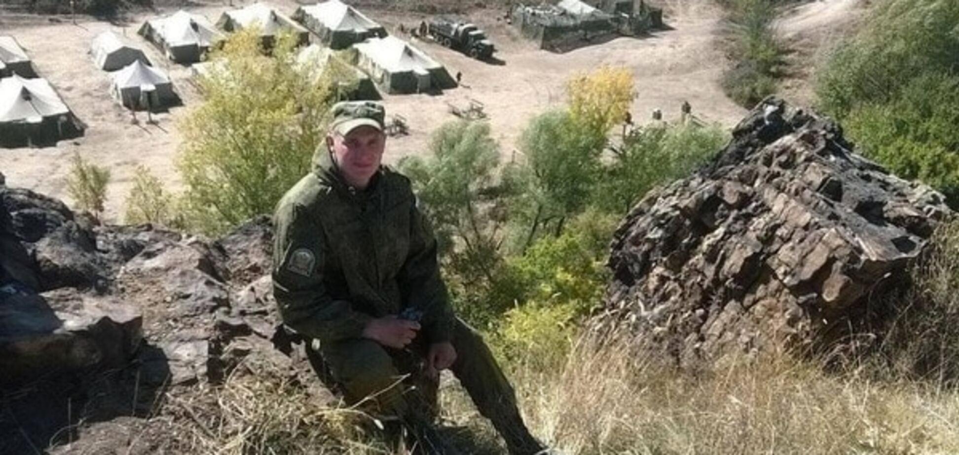 Лагерь российских войск на Донбассе