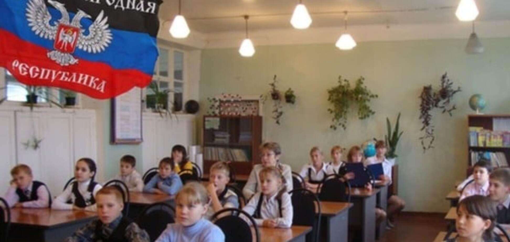 На урок пропаганди в школу Луганська прийшов ветеран-'бандерівець'