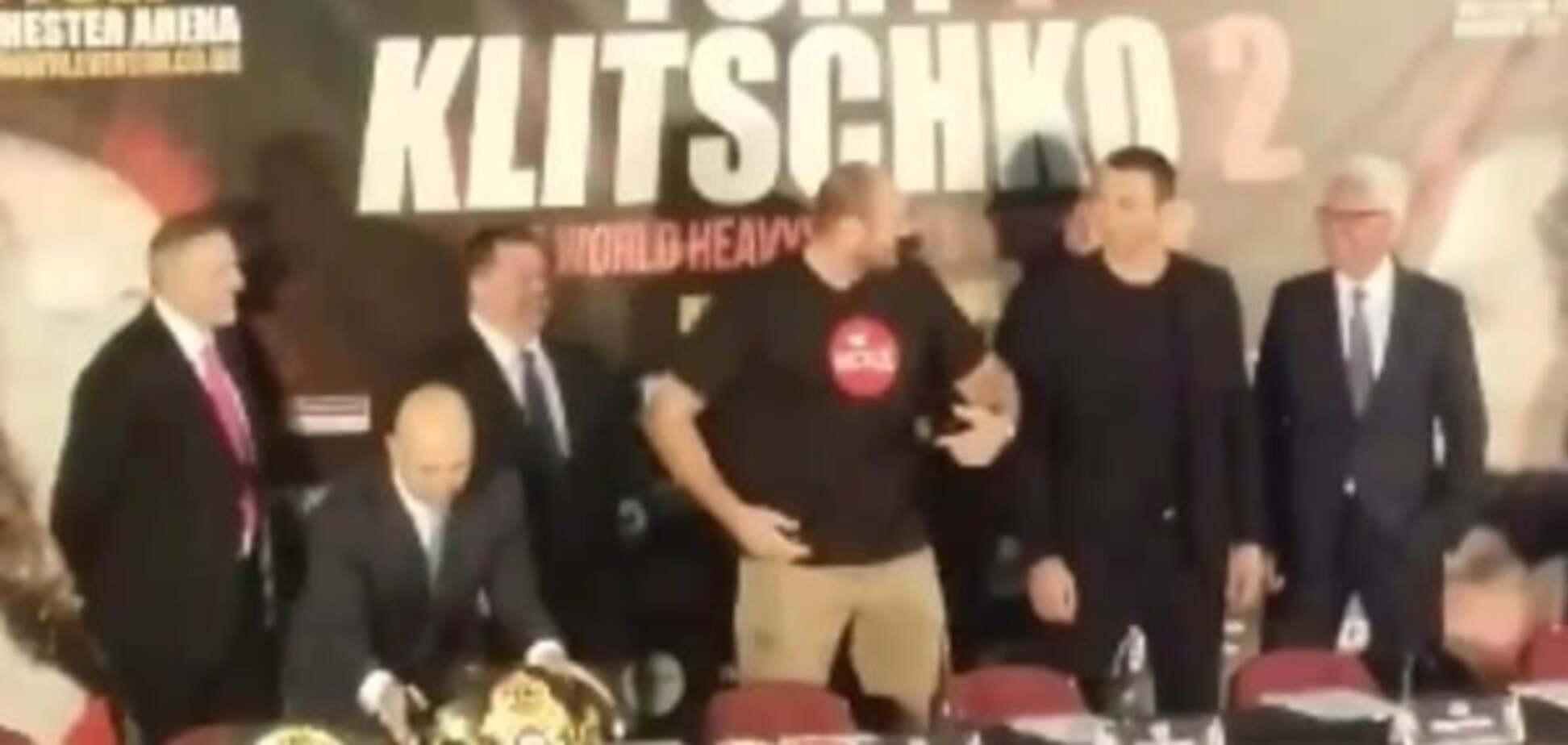 пресс-конференция Кличко Фьюри