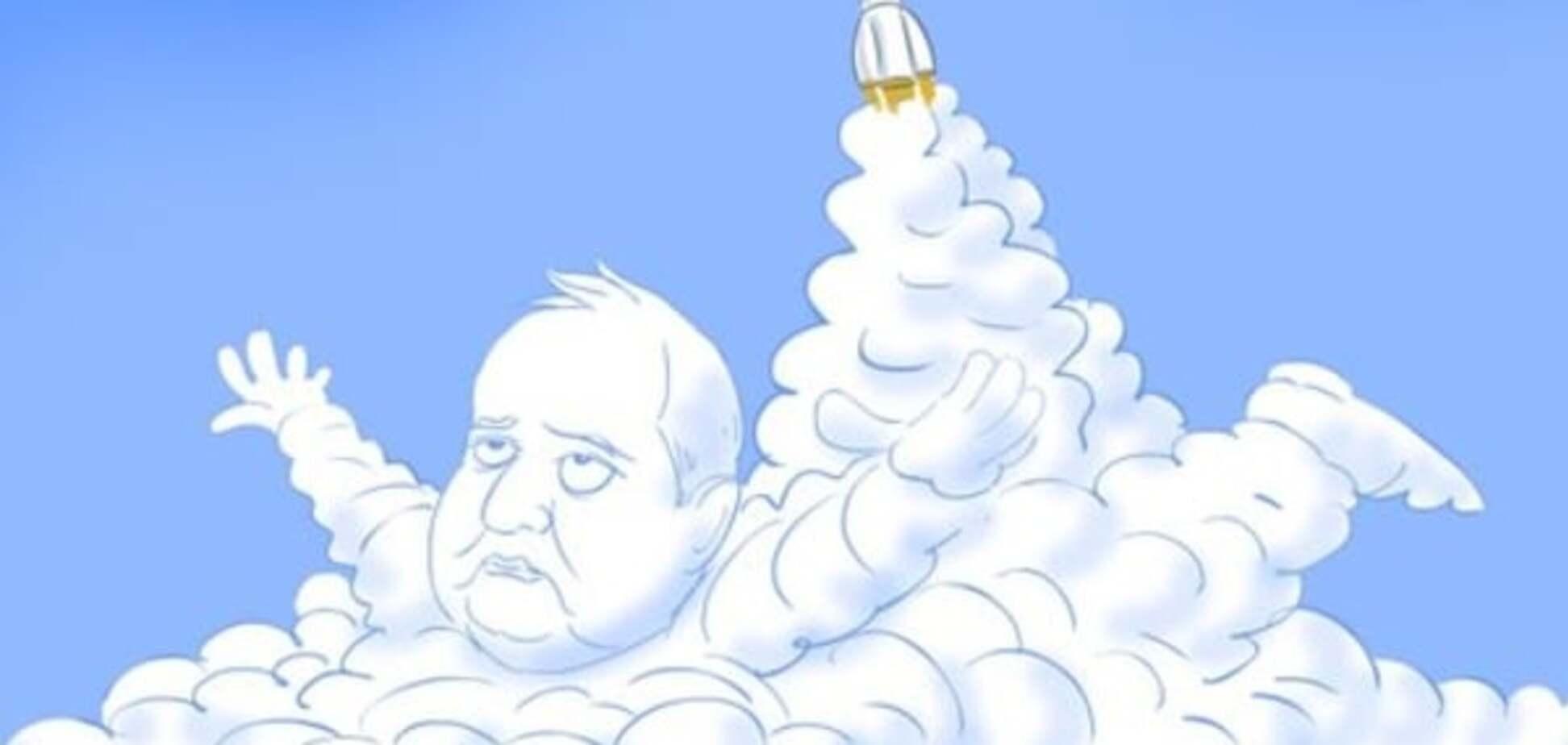 Йолкін висміяв Рогозіна і запуск ракети у Росії: свіжа карикатура