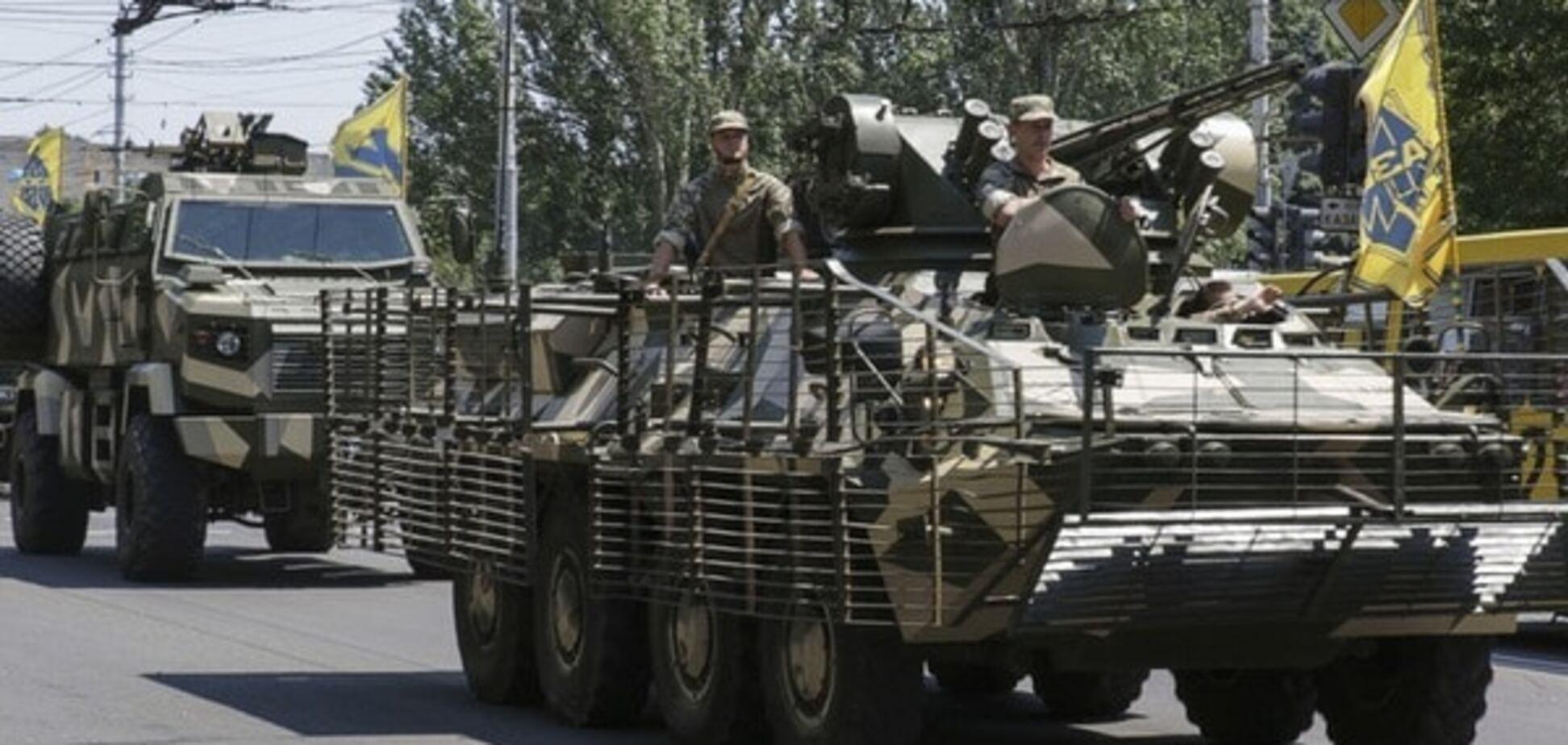 Спецназ на бойовій техніці почав патрулювати Одесу - СБУ