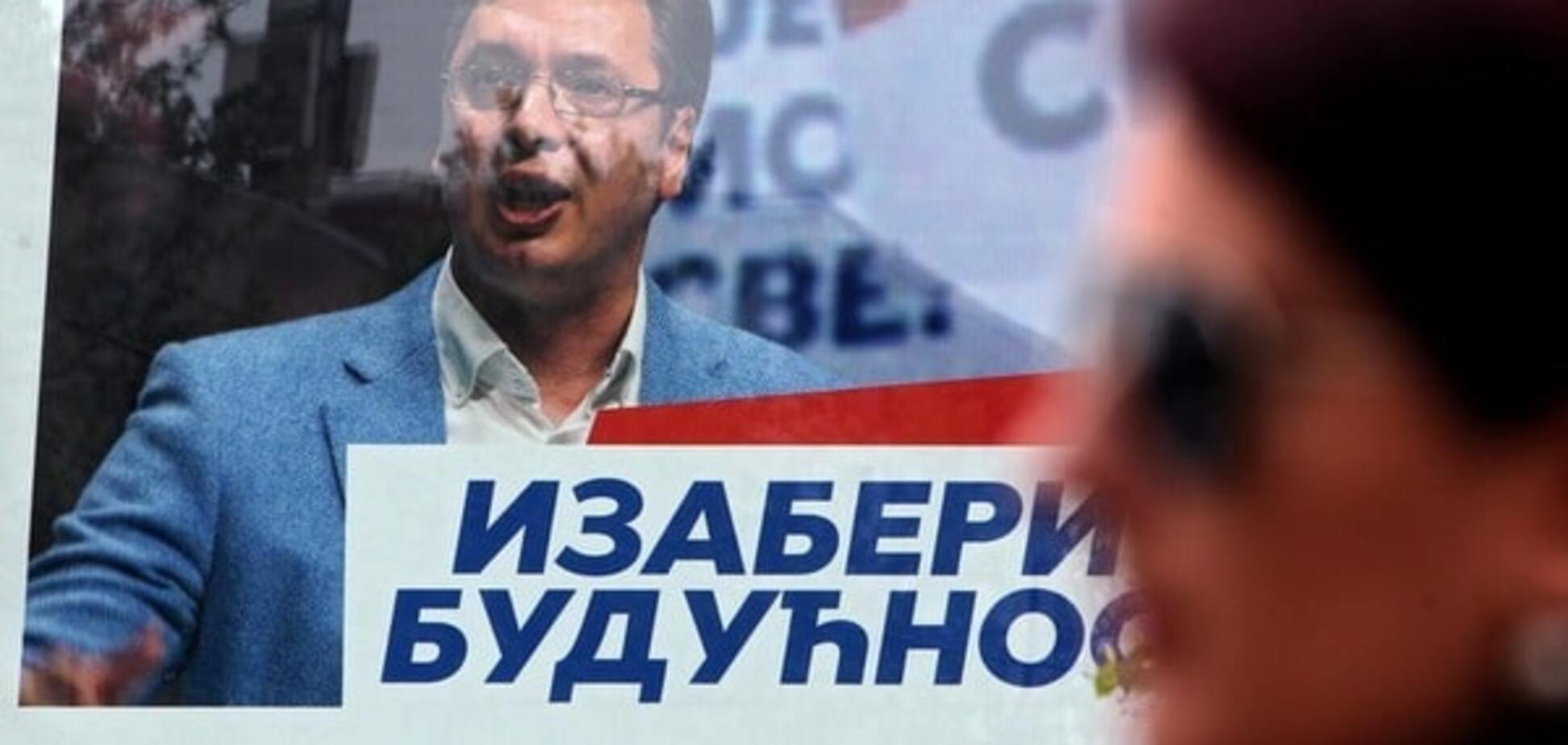 Парламентские выборы в Сербии