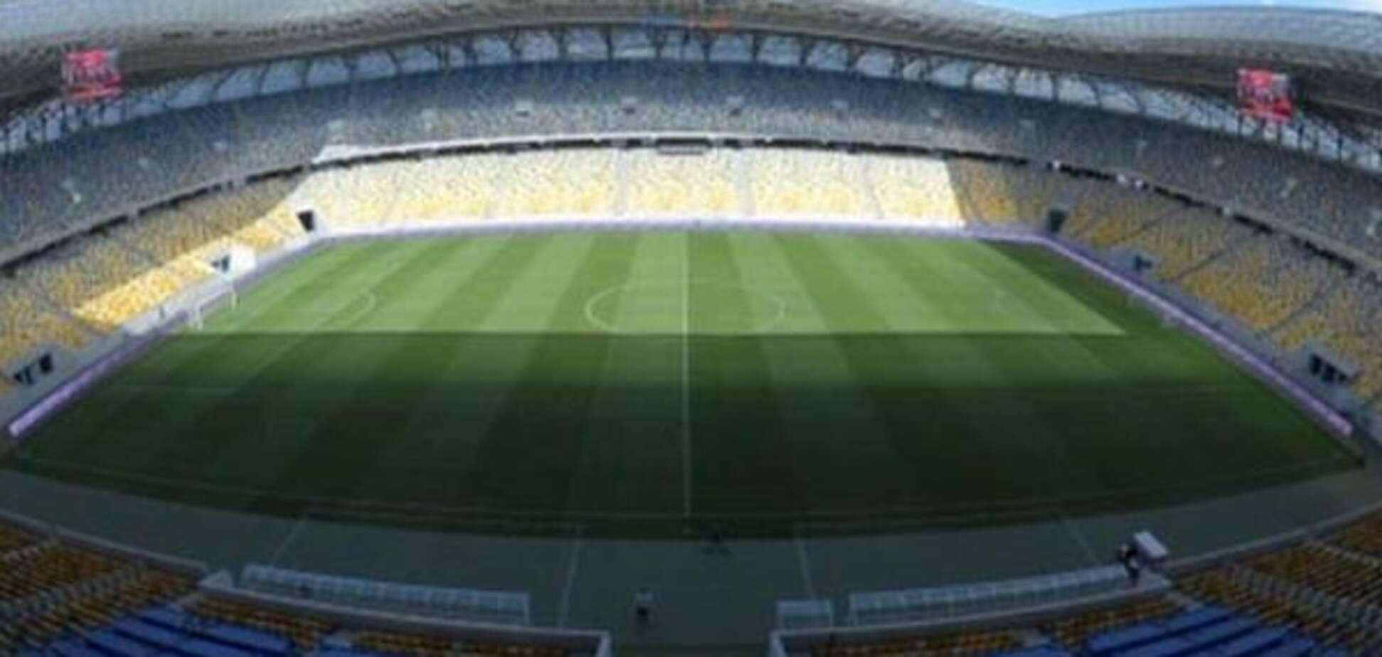 Вперше в історії. Фінал Кубка України з футболу відбудеться на новому стадіоні