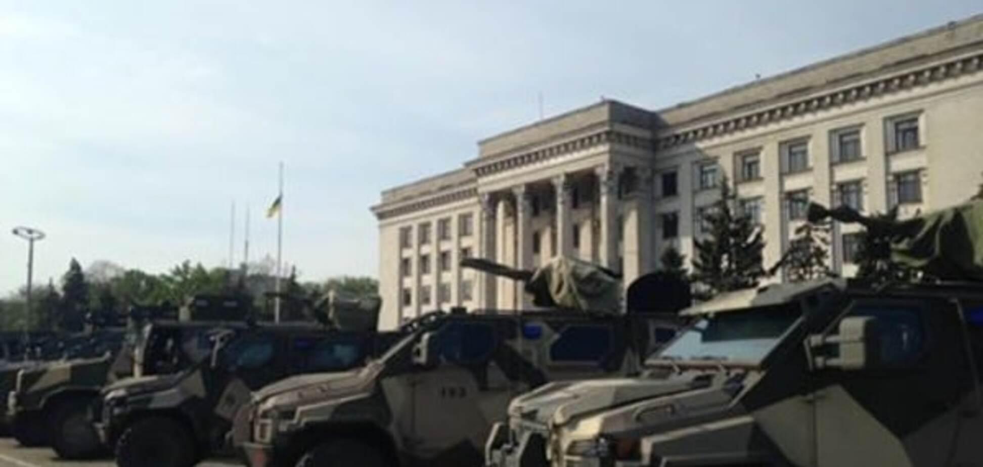 Нацгвардия в Одессе