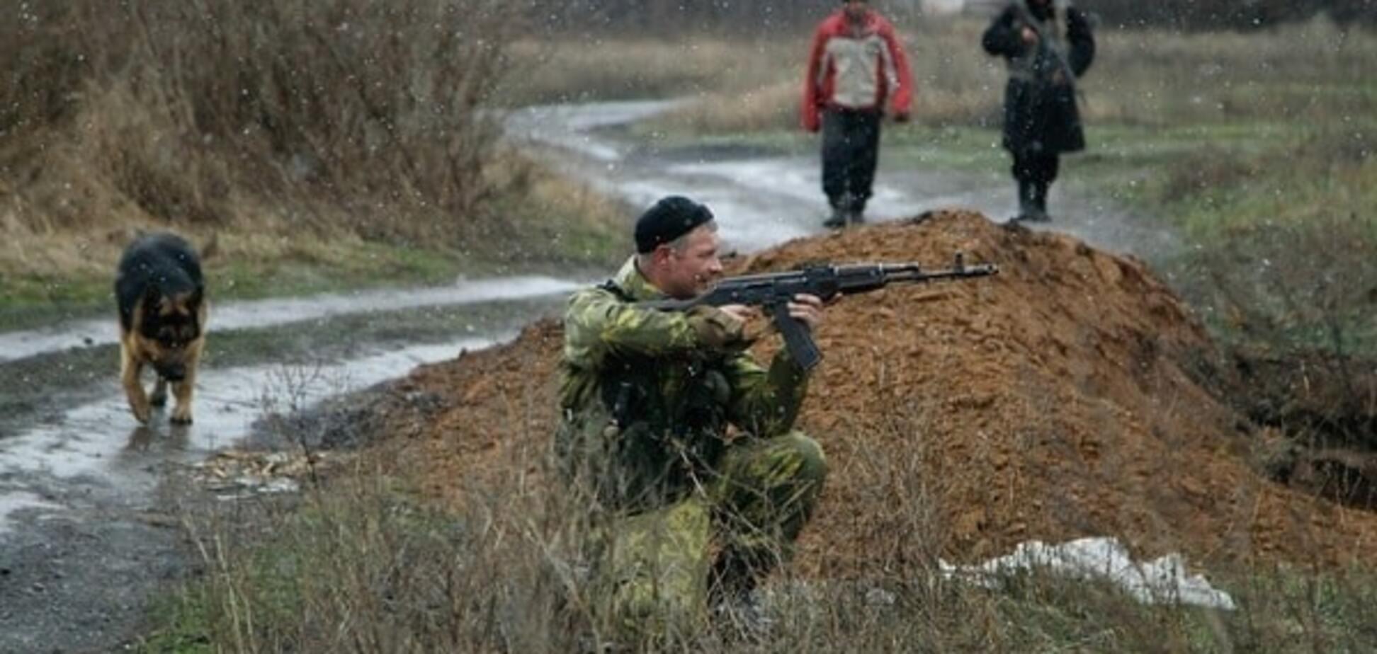 В Станиці Луганській бійці АТО три рази відбили атаки терористів