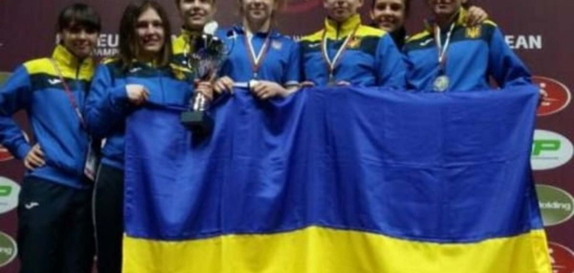 Збірна України виграла чемпіонат Європи з боротьби - 4 квітня 2016