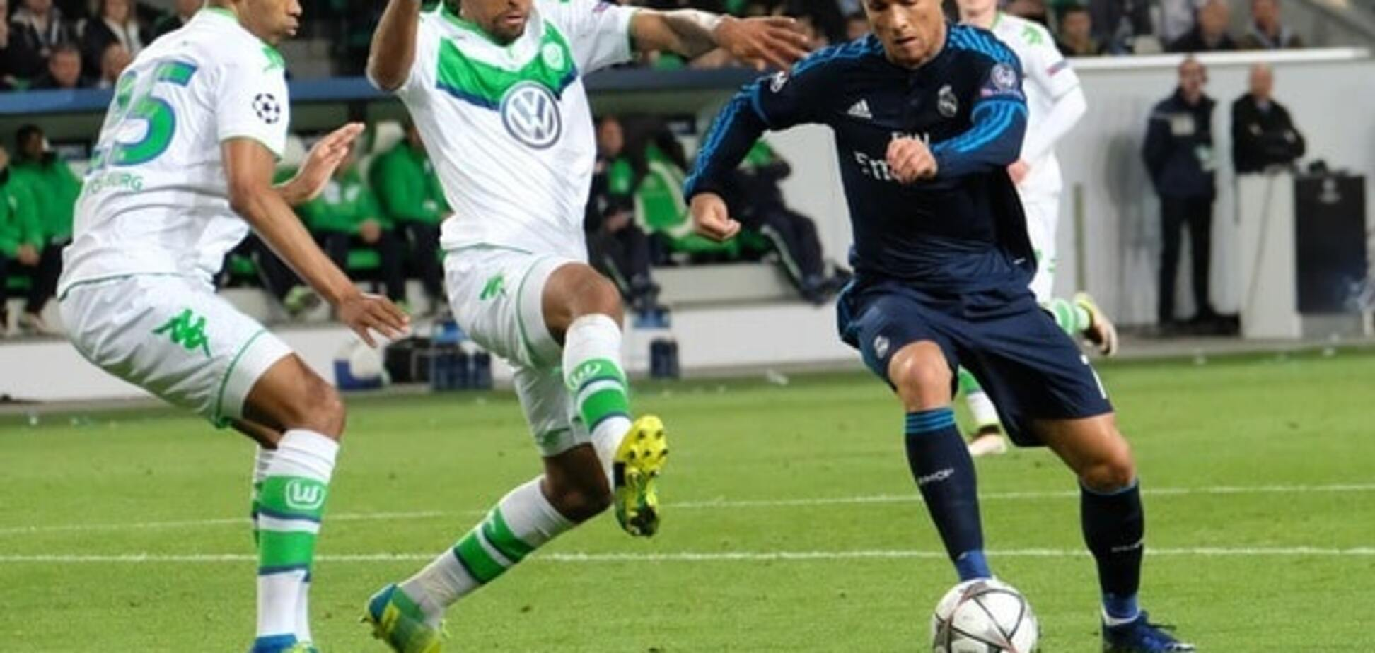 'Реал' сенсаційно програв 'Вольфсбургу' в 1/4 фіналу Ліги чемпіонів