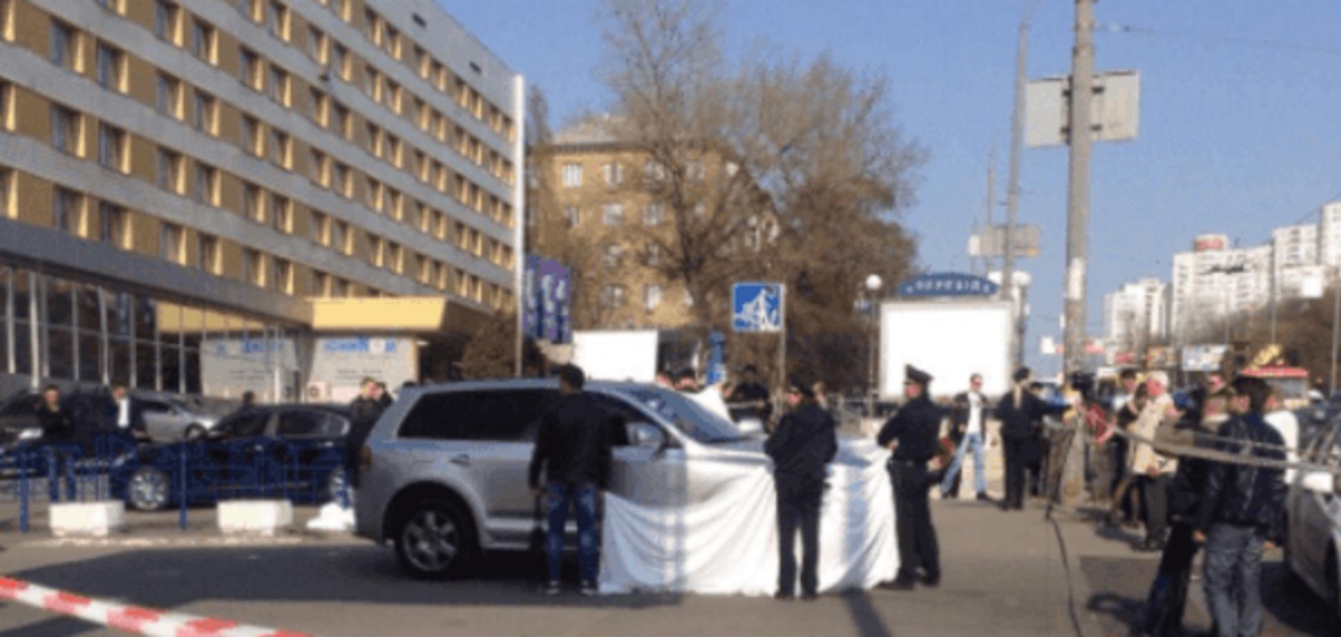 У Києві на місці розстрілу директора спортклубу побили журналістів - ЗМІ