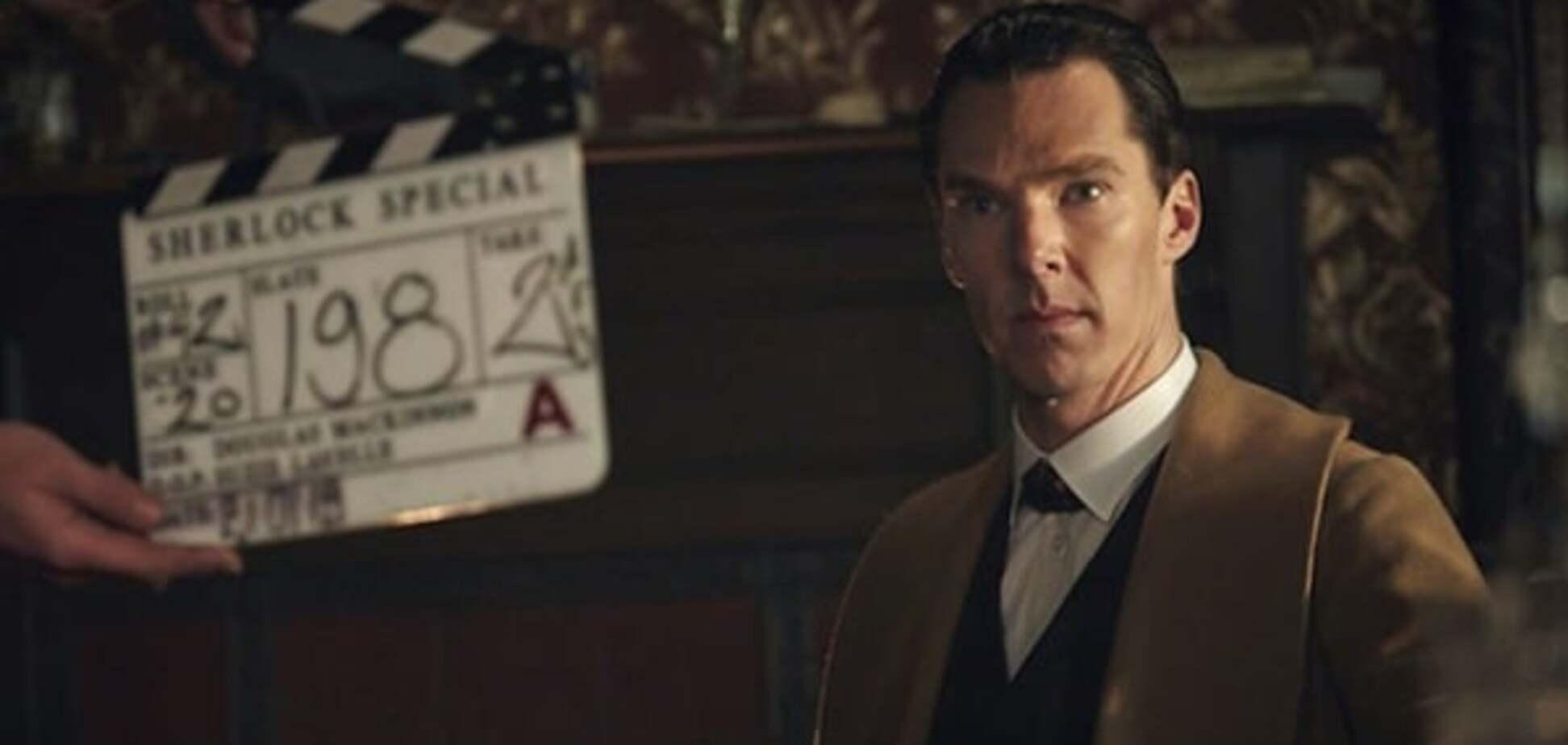 Шерлок 4 сезон почали знімати: опубліковано відео