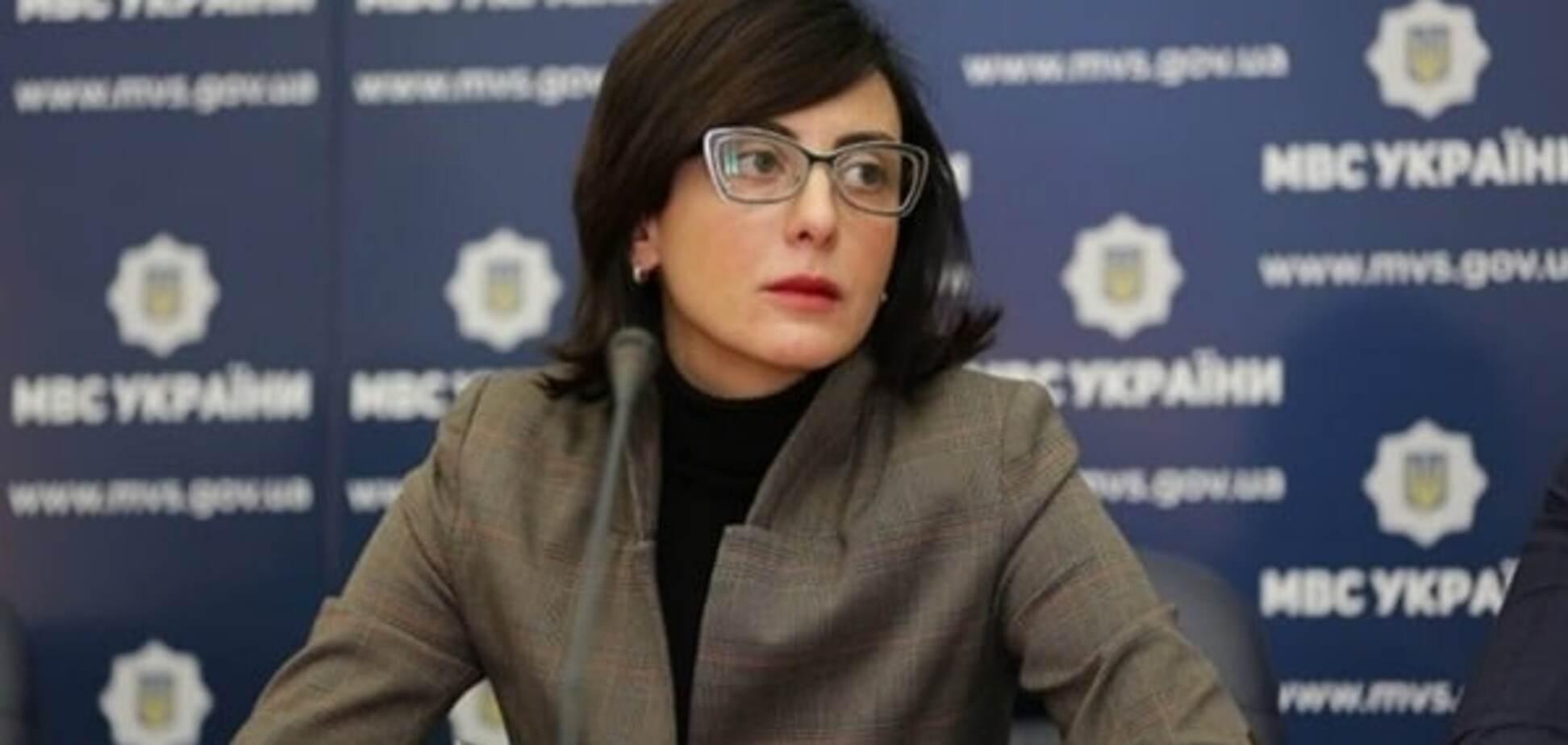 Хатия Деканоидзе, реформа полиции