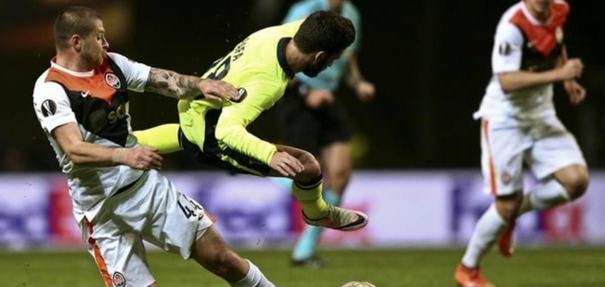 'Шахтар' обіграв 'Брагу' в першому чвертьфіналі Ліги Європи