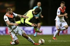 'Шахтер' обыграл 'Брагу' в первом четвертьфинале Лиги Европы