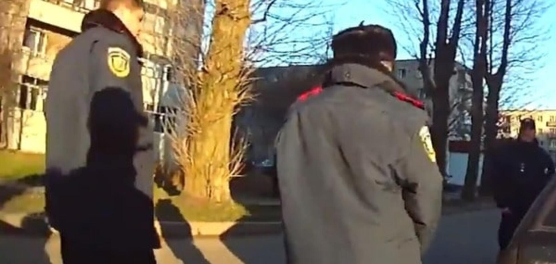 Львівським поліцейським загрожує до 8 років в'язниці за затримання водія-порушника