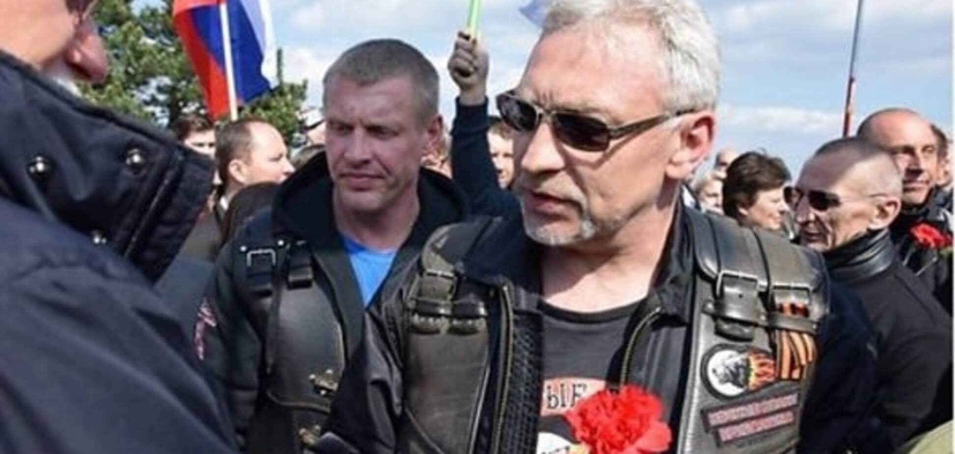 До Берліна не доїде: в Латвії затримали одного з 'вовків' Путіна. Відеофакт